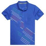 Het Katoen van de manier/het Polyester Afgedrukte Overhemd van het Polo van het Golf (P011)