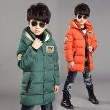 Зимы теплая мальчика куртка вниз