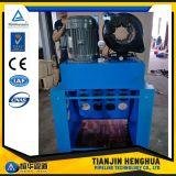 """Máquina de friso da mangueira 6s hidráulica industrial de Digitas 2 da tela de toque P52 """" para a venda"""