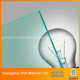 лист зеленого бросания 3mm акриловый для рекламировать/доски пластмассы PMMA Pelxiglass