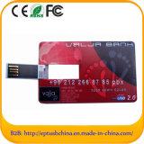 2013 Distintivo de Calidad de cuero USB Flash Drive Top (EL566)