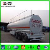 半3axle 45000litersの炭素鋼の石油燃料販売のためのディーゼルタンクトレーラー