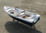 Barco de barco de pesca da fibra de vidro de China Aqualand 18feet 5.5m/motor dos esportes/barco do Panga (180c)