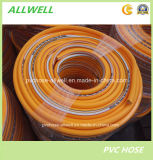 Шланг трубы брызга воздуха давления PVC пластичным высоким усиленный волокном