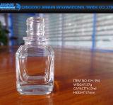 Bottiglia di vetro del polacco di chiodo della piccola cristalleria rotonda