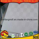 Tarjeta de yeso de papel con la parte posterior de la hoja de Aliminum para los azulejos blancos del techo del PVC del color