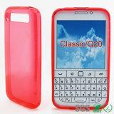 Commerce de gros transparent accessoire de téléphone cellulaire pour Blackberry Classic Q20