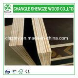 El álamo y Eucalytptus mezclaron la madera contrachapada hecha frente película de la base