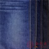 Qm4809 de sarga de algodón tejido Denim