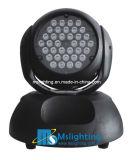 36*RGBW 4in1 LED 이동하는 맨 위 가벼운 세척