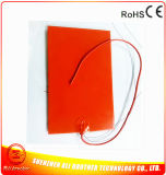 Silicone 3D 12V 350W 200*400*1.5mm Heater PAD Printer Rubber 120c