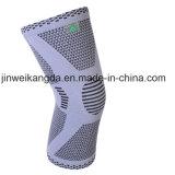 Neue Breathable Silikon-Knie-Auflagen/Qualitäts-orthopädischer Knie-Support, Knie-Klammer, Knie-Hülse