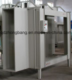 Aluminum Profile를 위한 좋은 Quality Manual Coating Booth