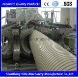 Ligne en plastique d'extrusion de diamètre de creux de mur de pipe énorme de spirale