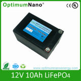 батарея 12V 10ah LiFePO4 для света СИД с PCM