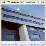 Los paneles de pared compuestos de aluminio incombustibles y decorativos