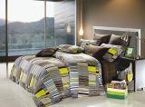 Baumwolle 100% mit der reagierenden gedruckten Bettwäsche eingestellt (YH1539)