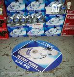 Collant de publicité auto-adhésif amovible imperméable à l'eau bon marché fait sur commande d'étage