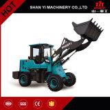 Machines agricoles mini chargeur de roue de 1.8 tonne avec du ce