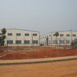 Structure en acier moderne en Afrique du Sud de l'entrepôt
