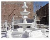 Fontana di scultura di pietra grigia del granito della fontana della decorazione del giardino