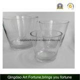 Vaso di vetro libero di uragano per la decorazione domestica