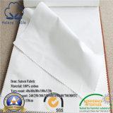 100% Coton/CVC Hôtel/hôpital/accueil tissu satiné