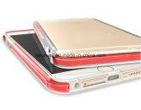 安くiPhone 5の6携帯電話カバーケースのための透過TPU LEDの軽い電話箱をカスタマイズしなさい