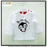 Manchon long bébé vêtements bébé fille blanc T-shirts