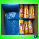 Sacs à ordures HDPE Sacs jetables avec étiquette papier