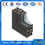 알루미늄 Windows 밀어남 단면도 6000의 시리즈 6063 T5