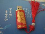 Lue et lecteur Flash USB en porcelaine blanche
