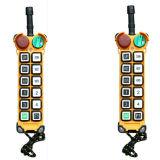 Telecomando industriale senza fili di F24-12s per la doppia gru a ponte della trave