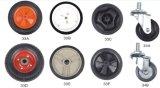 8 인치 단단한 고무는 공기 압축기와 정원 외바퀴 손수레를 위한 타이어를 선회한다