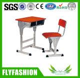 Ajustable de alta calidad baratos sola Mesa con patas de metal