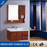 Unidades comerciales de madera montadas en la pared al por mayor de la vanidad del cuarto de baño