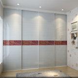 현대 새로운 높은 광택 있는 UV 미닫이 문 옷장 (ZH0002)