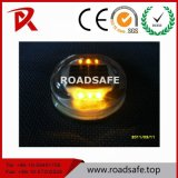 Roadsafe milderte hohen hellen Solarstraßen-Stift des Beleuchtung-Glas-LED