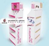 Support en carton Revêtement de sol pour étagères en acier inoxydable