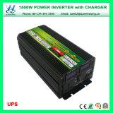 de Omschakelaar Inversor Cargador van de Macht van de 1500WDC12V/24V AC110V/220V UPS Lader (qw-M1500UPS)