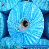 La bâche de protection étanche personnalisé bleu en PE pour la couverture de rouleau