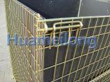 倉庫の折るペットは金網の容器を前もって形成する