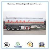 Высокого качества 3 Fuwa Axles топлива топливозаправщика трейлер Semi