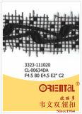 Merletto squisito anelastico Cl-00634da di modo nero