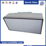 Unité de filtre de panneau de ventilateur pour le nettoyage de l'air