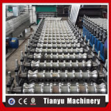 Aço de Metal Roofing Folhas máquina de formação de rolos de Papelão Ondulado