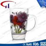 caneca de vidro da flor nova do projeto 280ml para a água (CHM8071)