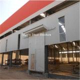 케냐에 있는 싼 금속 강철 구조물 건물