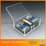 홈 호텔을%s 아크릴 조직 상자 또는 투명한 플라스틱 종이상자