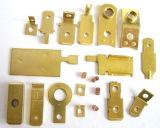 Metallo che timbra le parti fatte come illustrazione del cliente